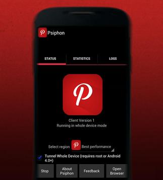 New Psiphon Tips Pro 2018 poster