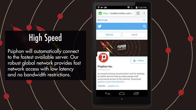 Psiphon Pro screenshot 3