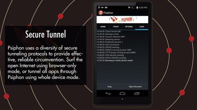 Psiphon Pro - The Internet Freedom VPN apk screenshot