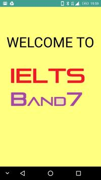 Cue Card IELTS Band7 India poster