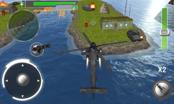 Modern Gunship Helicopter 3D apk screenshot