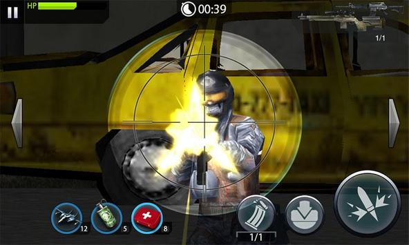 Gun Shooting Counter Shot apk screenshot