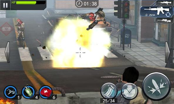SWAT Gun Strike Killer apk screenshot