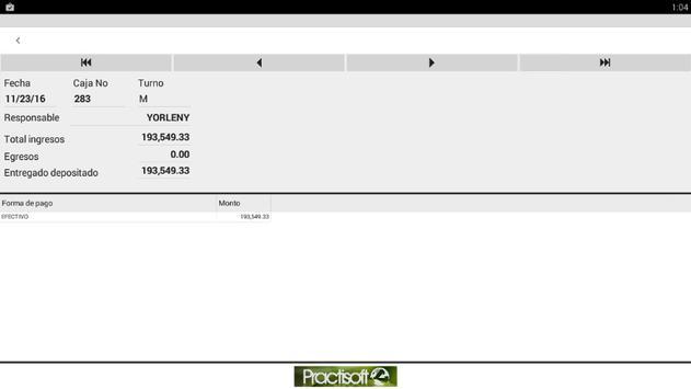 Resumen diario Administrativo screenshot 3