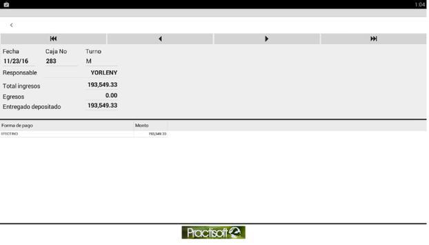 Resumen diario Administrativo screenshot 4
