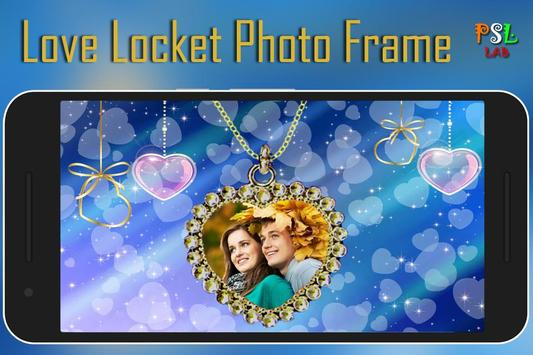 Love Locket Photo Frame poster