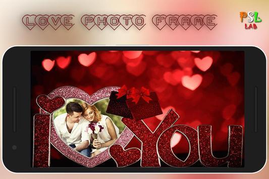 Love Photo Frame poster