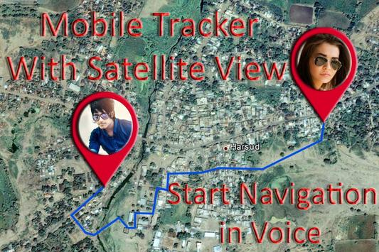 Live Mobile Number Location Tracker:GPS Tracker poster