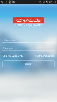Oracle Identity Governance poster