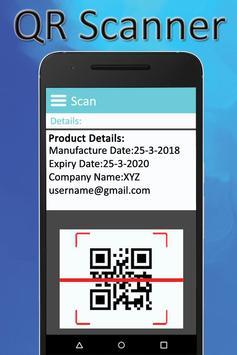 QR Scanner:QR Reader:Barcode Scanner screenshot 1