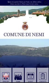 Comune di Nemi poster