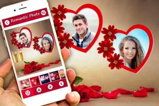 Romantic Photo Frames apk screenshot