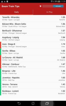 Boom Train Betting Tips apk screenshot