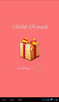 Mobile Rewards poster