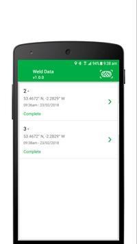 PSS Live - Weld Data apk screenshot