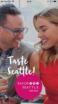 Savor Seattle poster