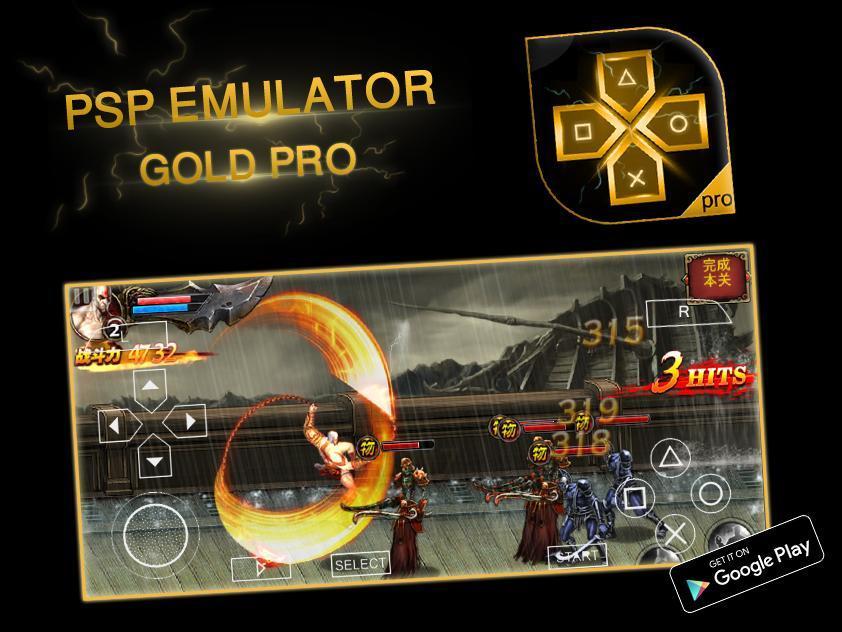 latest psp gold emulator for android