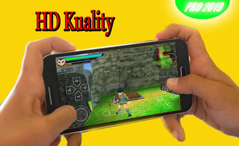 PSP Emulator Pro : game PS2 & PS3 Quality HD for Android - APK Download