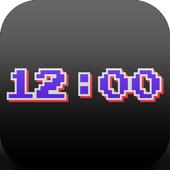 "PsPsClock ""Pixel"" - Music Alarm Clock & Calendar icon"