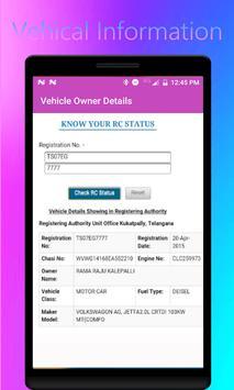Find Vehicle Owner Detail /RTO Vehicle Information screenshot 4