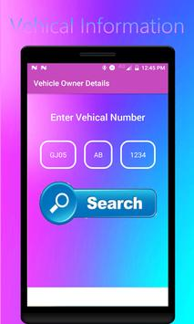 Find Vehicle Owner Detail /RTO Vehicle Information poster