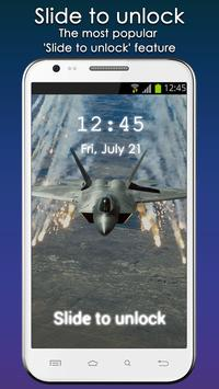 Air Force Lock Screen apk screenshot
