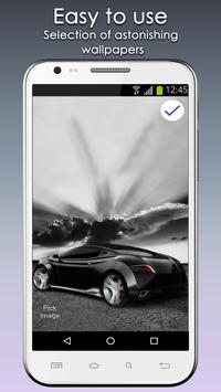 Concept Cars Lock Screen screenshot 3