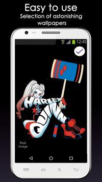 Fan Lock Screen of Harley Quinn screenshot 3