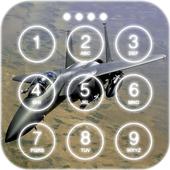 Jet Fighter Lock Screen Wallpaper icon