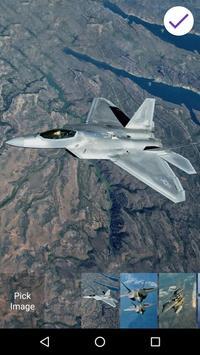 Jet Fighter Lock Screen Wallpaper apk screenshot
