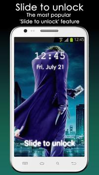 Fan Lock Screen of Joker apk screenshot
