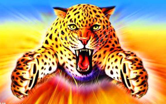 Leopard 3D Live Wallpaper Poster