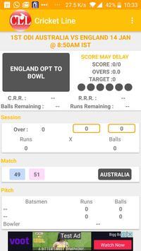 Live Line : Cricket poster