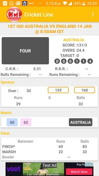 Live Line : Cricket apk screenshot