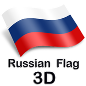 Russian Flag 3D icon