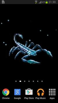 Scorpion Animated Wallpaper apk screenshot