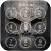Scary Skull Lock Screen icon