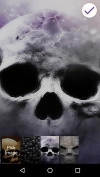 Scary Skull Lock Screen apk screenshot