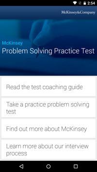 McKinsey PS Practice Test poster