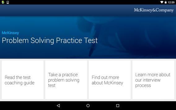 McKinsey PS Practice Test screenshot 10
