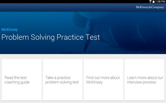 McKinsey PS Practice Test screenshot 5