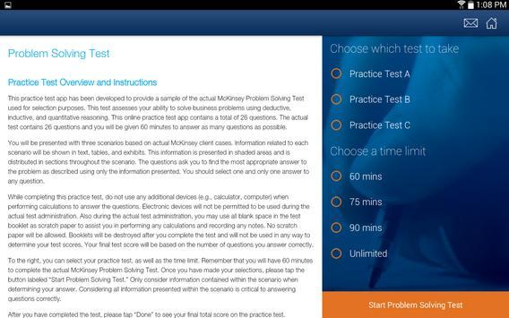 McKinsey PS Practice Test screenshot 7