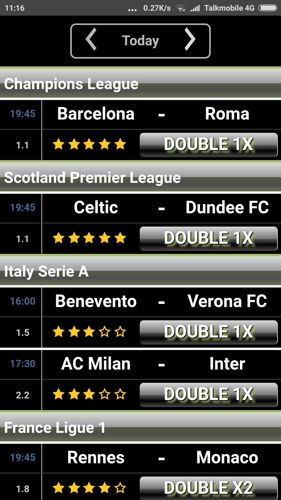 double chance soccer betting