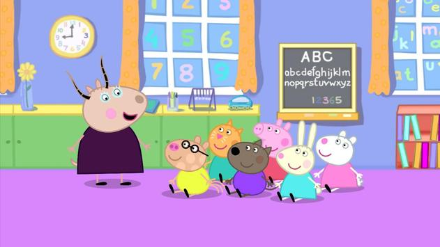 Peppa Baby Shop poster