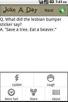 Joke A Day apk screenshot