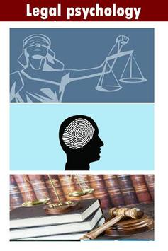 Legal psychology poster