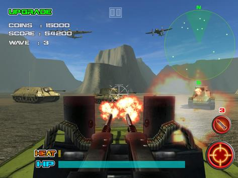 WWII Defense Shooting Game apk screenshot