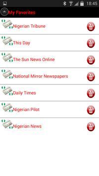 Nigeria Newspapers screenshot 2