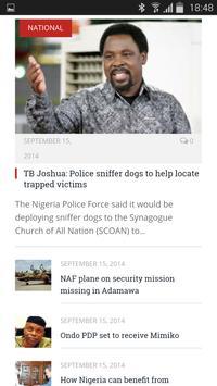 Nigeria Newspapers screenshot 3