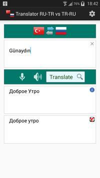 Russian Turkish Translator poster
